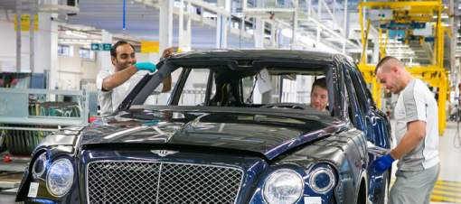 Bentley Motors Website: People